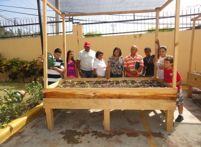 Community Garden Workshop at Banreservas Club