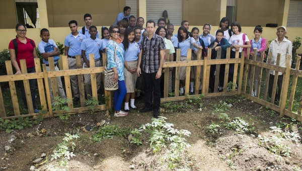 Course on basic cultivation practices - Unión Panamericana Secondary School