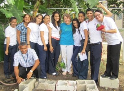 Creation of First School Garden in CONSA