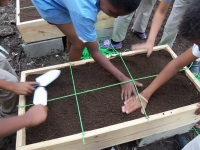 Fray Ramón Panes School Garden Trainning Workshop