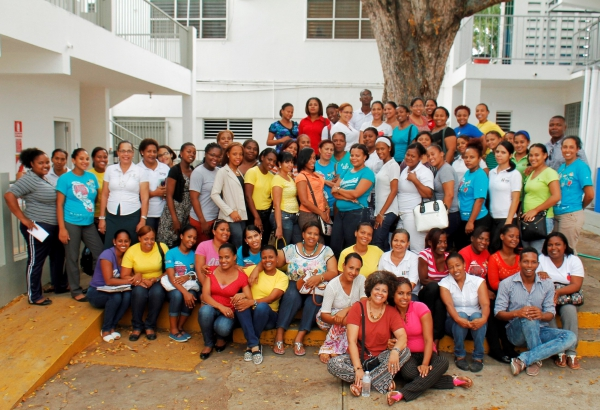 "70 Teachers Attend the Workshop ""The Garden in the School Curriculum "" at Escuela Hogar del Niño in La Romana"